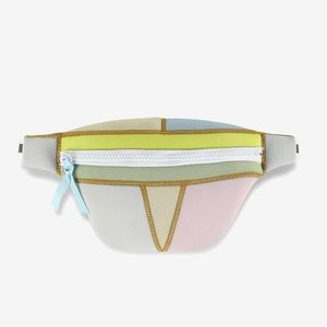 Cynthia Rowley Colorblock Neoprene Belt Bag